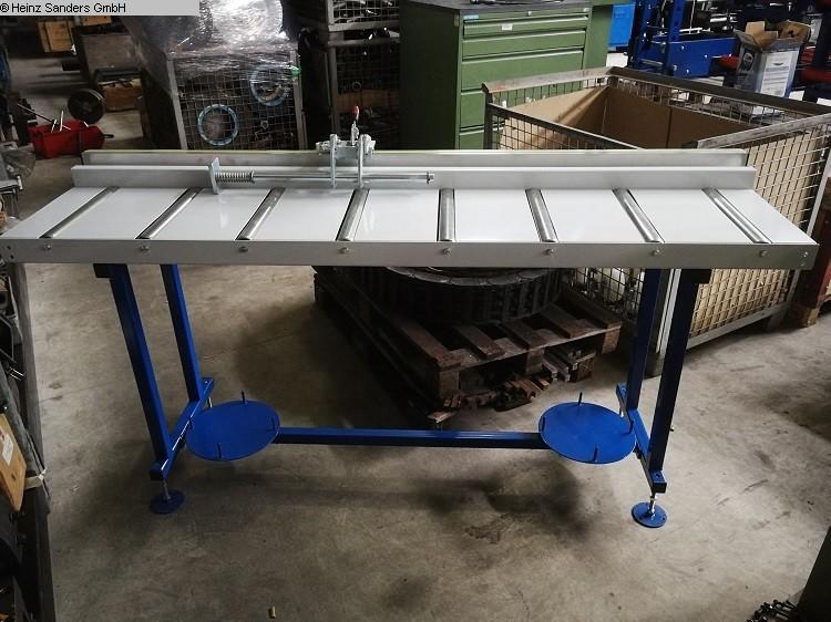 gebrauchte Sägen Rollenbahnen / Anschlag-Systeme SANDERS 3000 x 400 mm