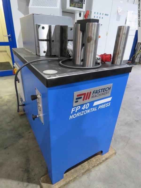 used Sheet metal working / shaeres / bending bending machine horizontal FASTECH FP 40