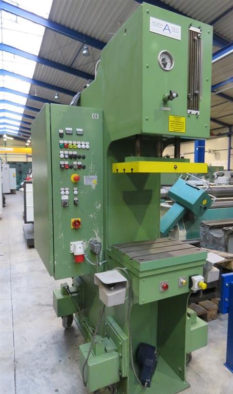 used Presses Single Column Press - Hydraulic ALPHATEC CP 60