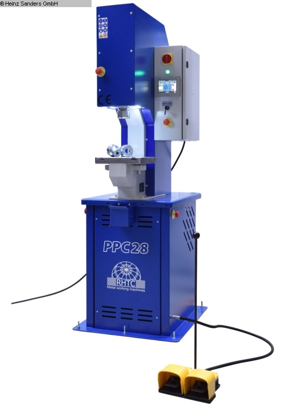 used Presses Single Column Press - Hydraulic RHTC PPC 28