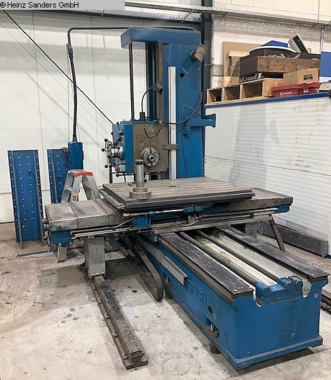 used Boring mills / Machining Centers / Drilling machines Table Type Boring and Milling Machine JUARISTI MDR 90
