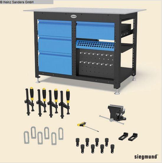 used Welding Table SIEGMUND WORKSTATION 16er System