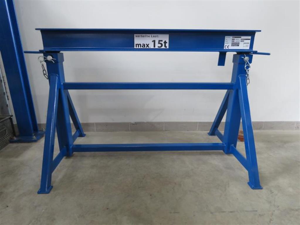 Takım tezgahları için diğer aksesuarlar aks standı SANDERS SLB 15 to.