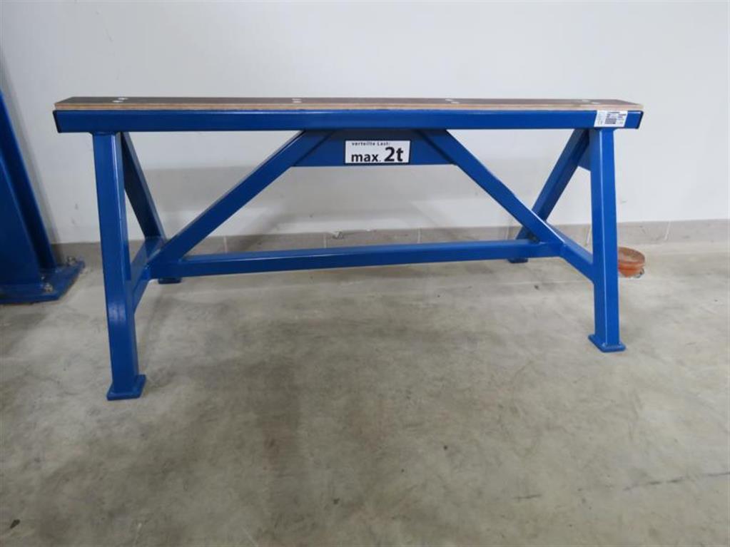 Takım tezgahları için diğer aksesuarlar aks standı SANDERS SLB 2 to. H500