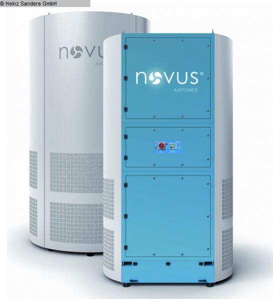 gebrauchte verschiedene Einrichtungen Absaugung NOVUS Airtower FT 20.000