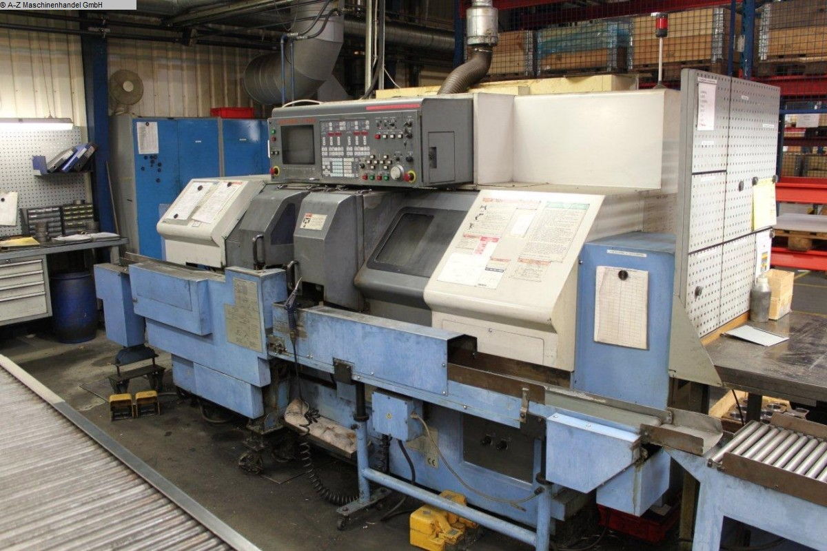 used  CNC Lathe MAZAK dual Turn DT 20