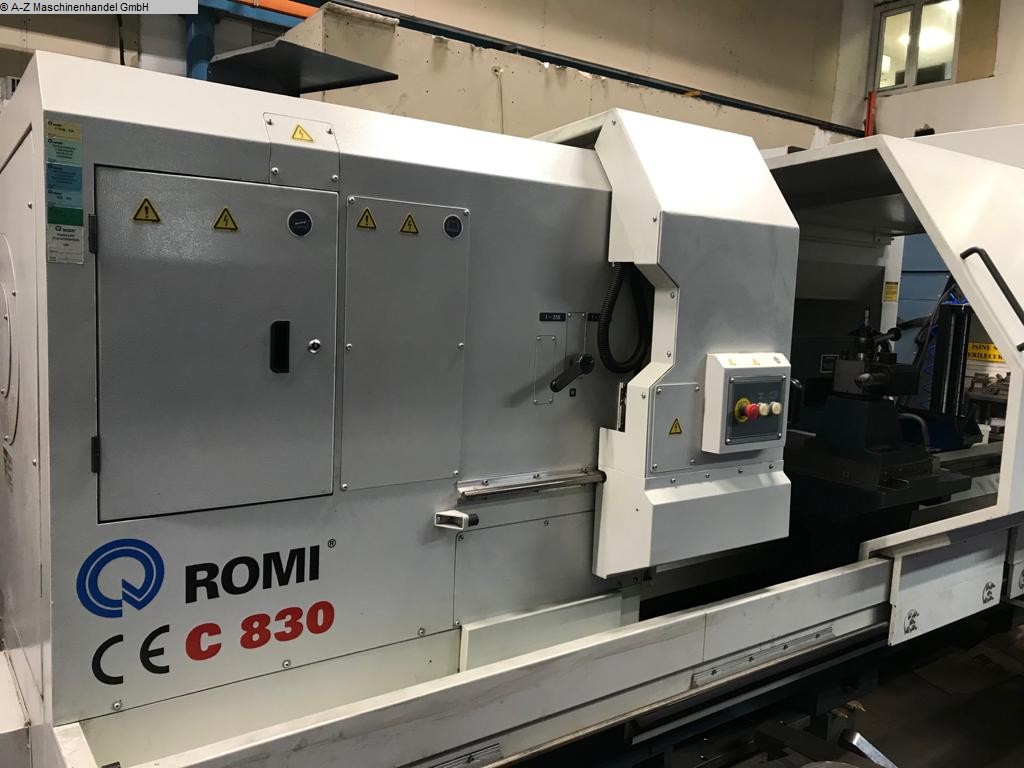 used  Lathe -  cycle-controlled ROMI C 830