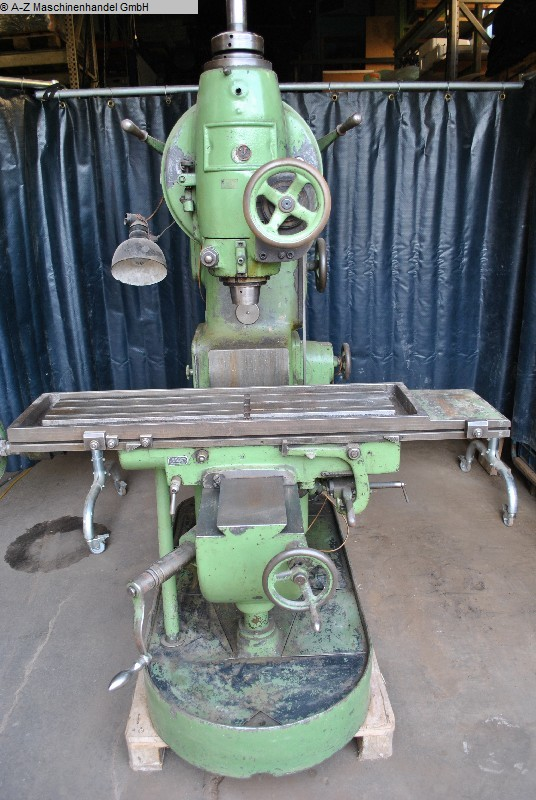 used  Milling Machine - Vertical WERNER, FRITZ 231