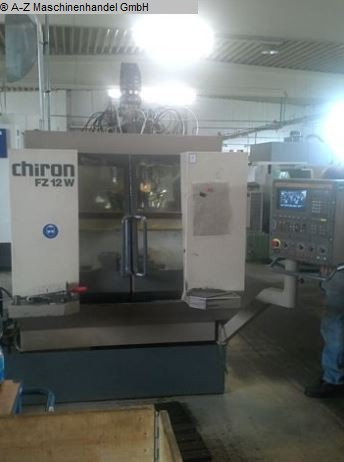 used  Travelling column milling machine CHIRON FZ 12 W