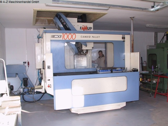 used  milling machining centers - vertical FAMUP MCX1000P