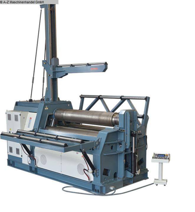 gebrauchte Blechbearbeitung / Scheren / Biegen / Richten 4-Walzen - Blechbiegemaschine DURMA HRB-4 2006