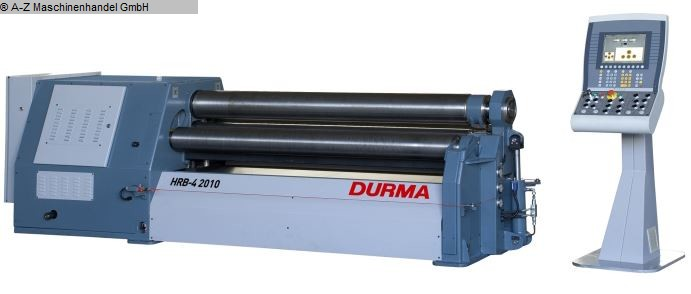 gebrauchte Blechbearbeitung / Scheren / Biegen / Richten 4-Walzen - Blechbiegemaschine DURMA HRB-4 2513