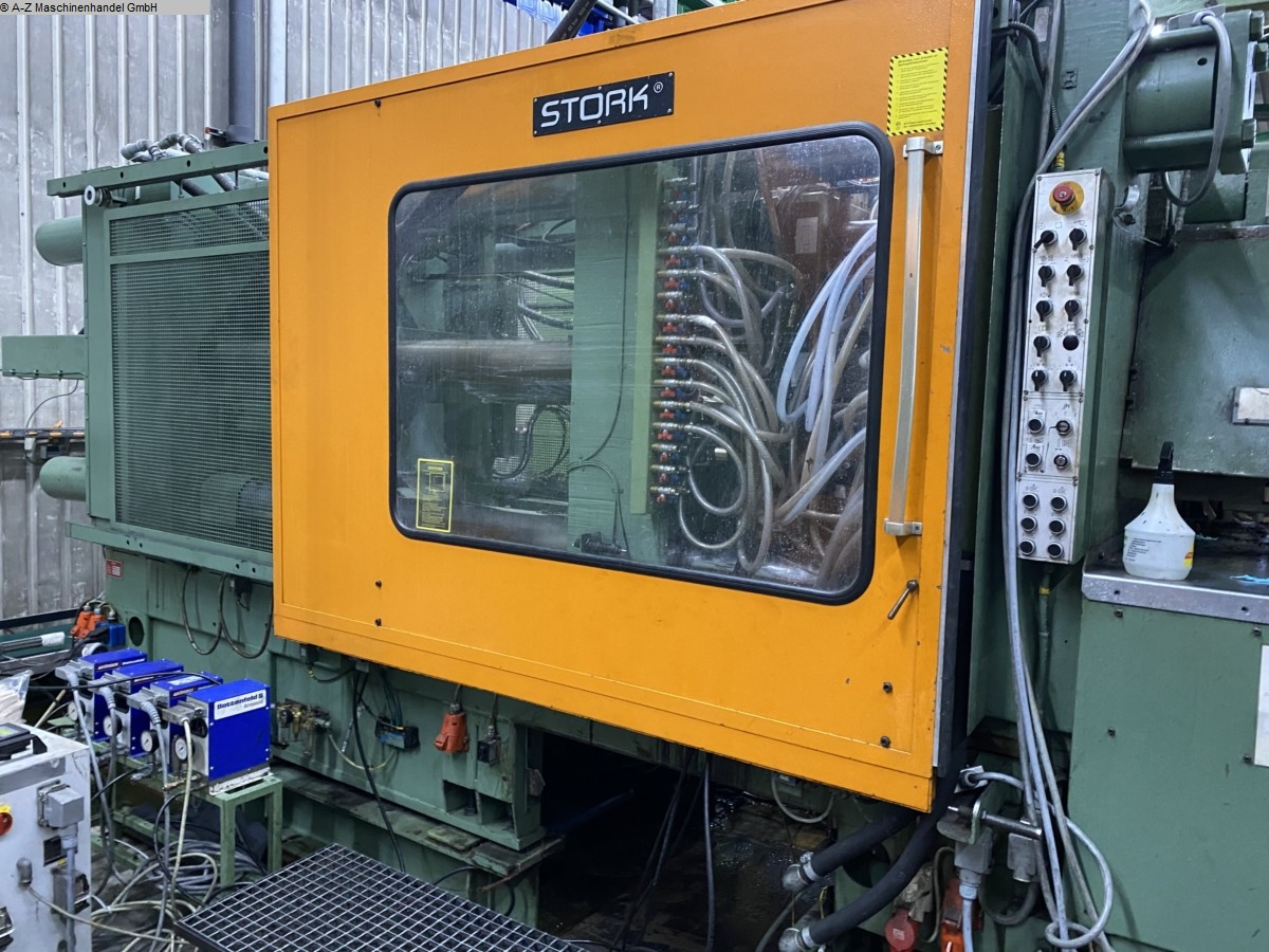 used Injection molding machines Injection molding machine over 5000 KN STORK ST6400-660