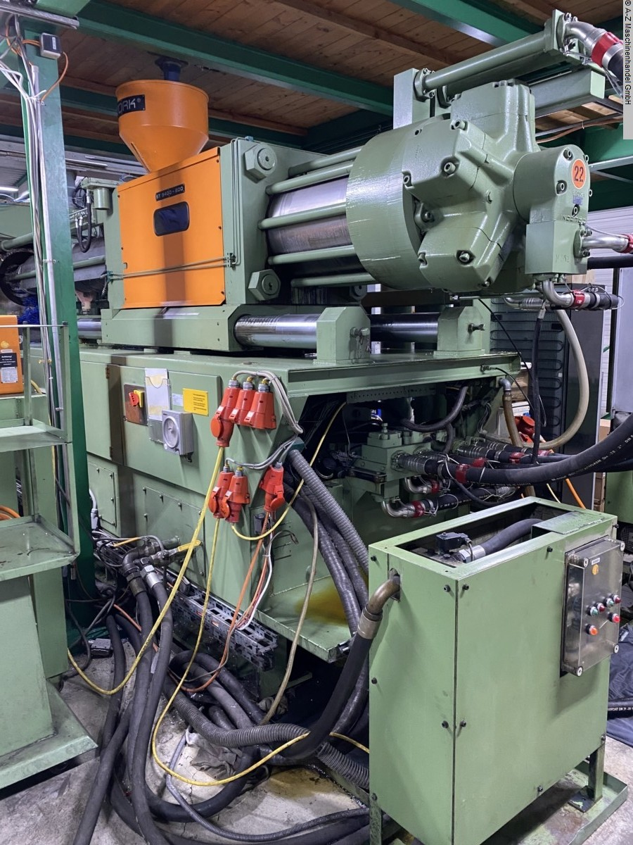 used Injection molding machines Injection molding machine over 5000 KN STORK ST9400-800