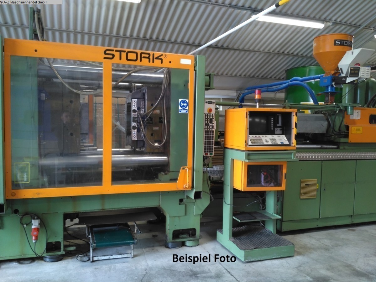 used Plastics / Packaging Injection molding machine up to 5000 KN STORK ST 2500-440