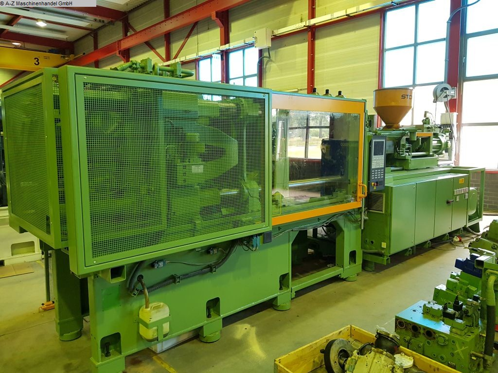 used Plastics / Packaging Injection molding machine up to 5000 KN STORK