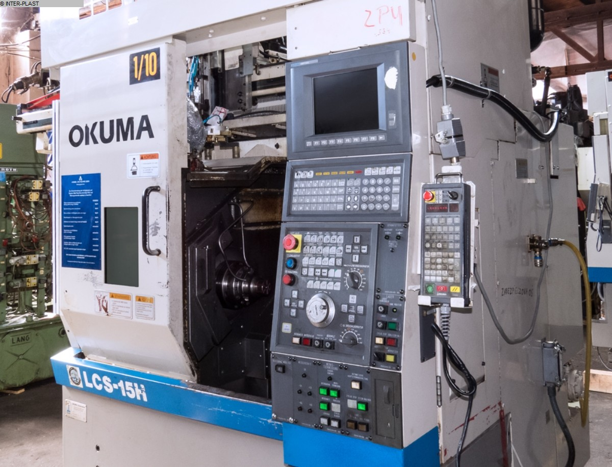 gebrauchte Maschine CNC Drehmaschine OKUMA LCS 15-H