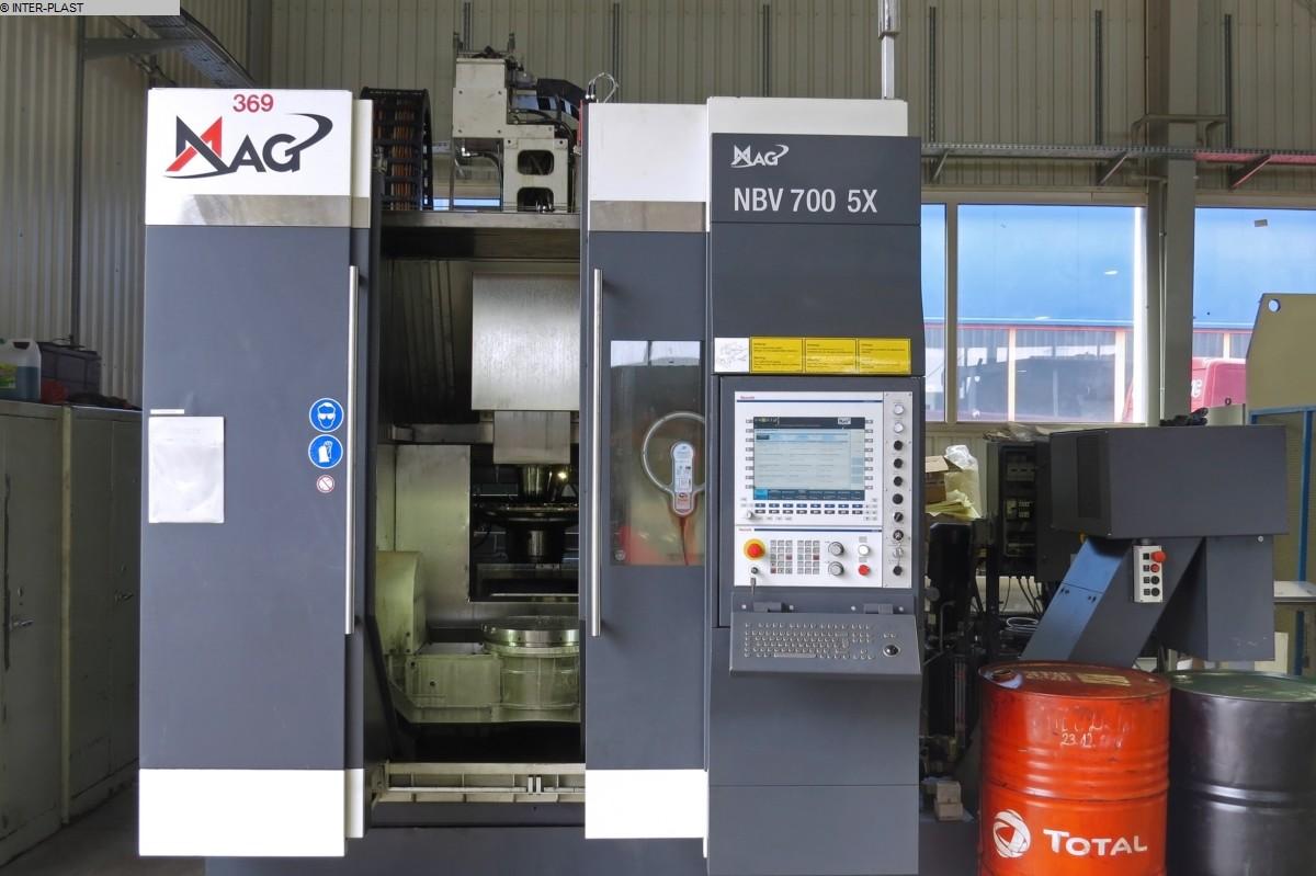gebrauchte Maschine Bearbeitungszentrum - Vertikal MAG NBV 700 5X