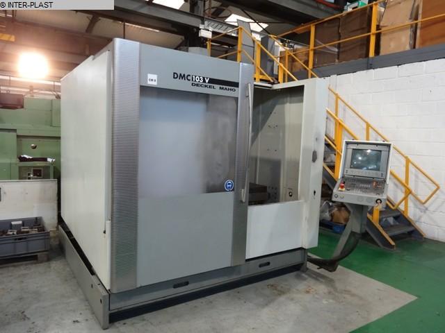 milling machining centers vertical cover maho dmc 103 v milling rh en lagermaschinen de