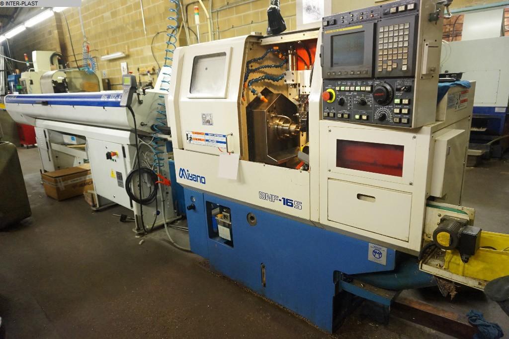gebrauchte Maschine CNC Drehmaschine MIYANO BNF-16S