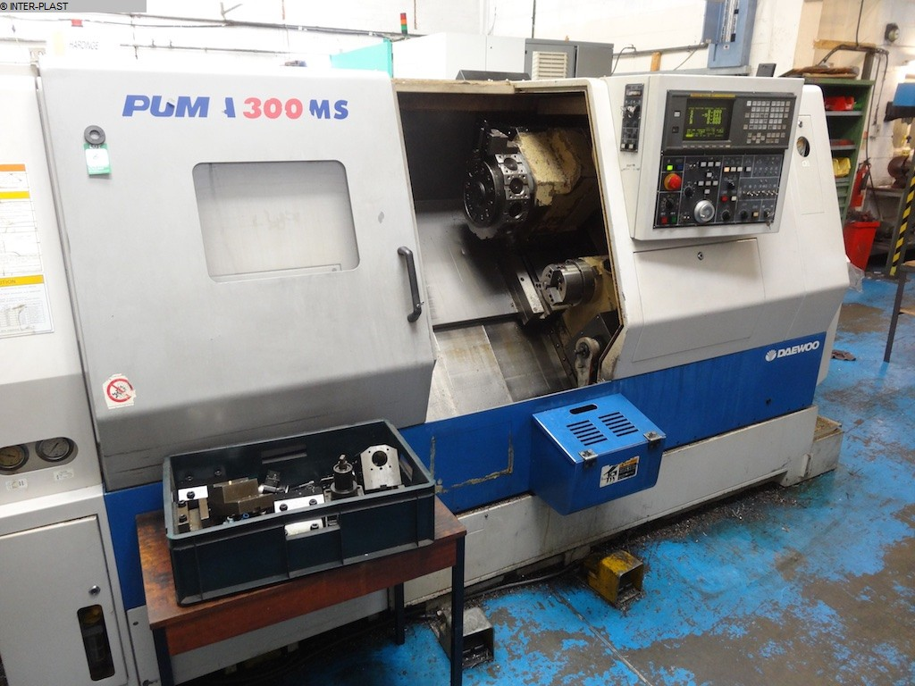 gebrauchte Maschine CNC Drehmaschine DAEWOO PUMA 300 MSB