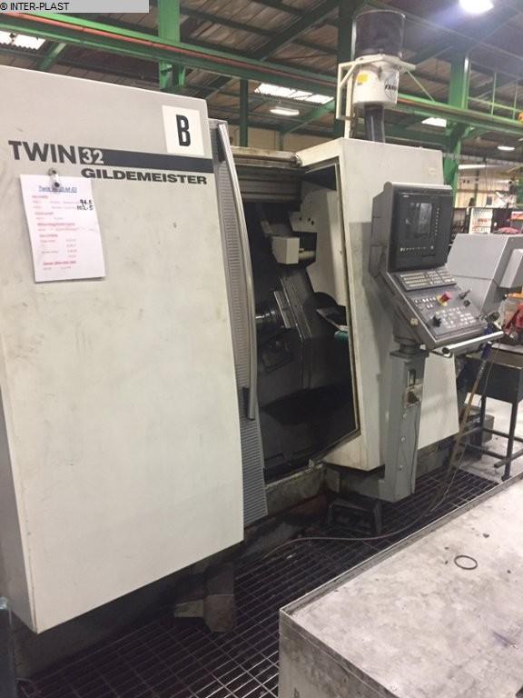 gebrauchte Maschine CNC Dreh- und Fräszentrum GILDEMEISTER TWIN 32
