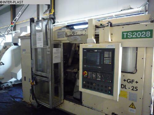gebrauchte Maschine CNC Drehmaschine GEORG FISCHER NDL-25-4/50