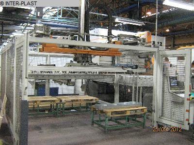 used machine bending machine horizontal WEINBRENNER B12/306/1500/225/2