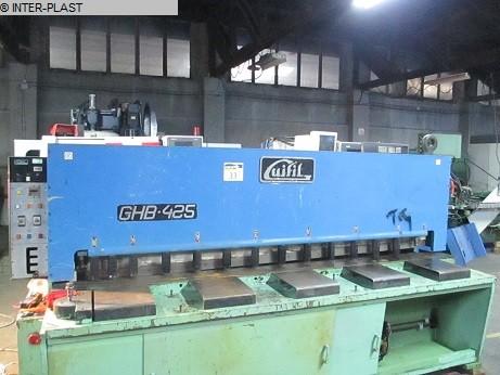 used Plate Shear - Hydraulic GUIFIL GHB-425