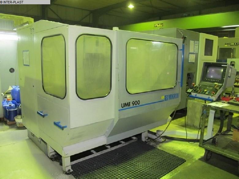gebrauchte Maschine Bearbeitungszentrum - Universal MIKRON UME 900