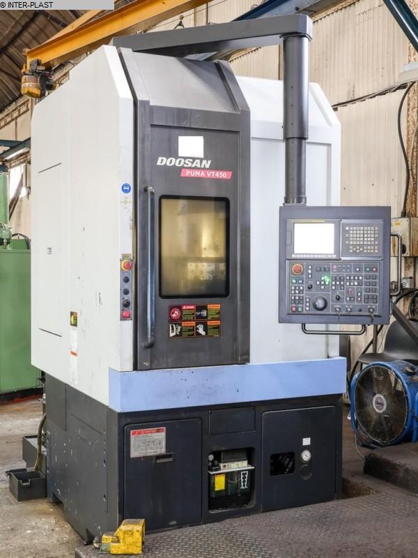 gebrauchte Maschine CNC Drehmaschine DOOSAN PUMA VT 450