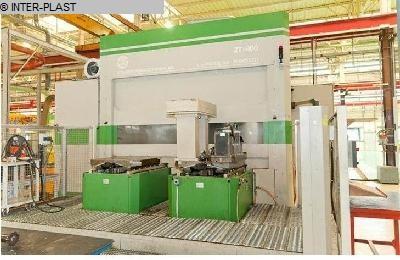 gebrauchte Fräsmaschinen Bearbeitungszentrum - Horizontal LA RIGIDE ZT 800-130