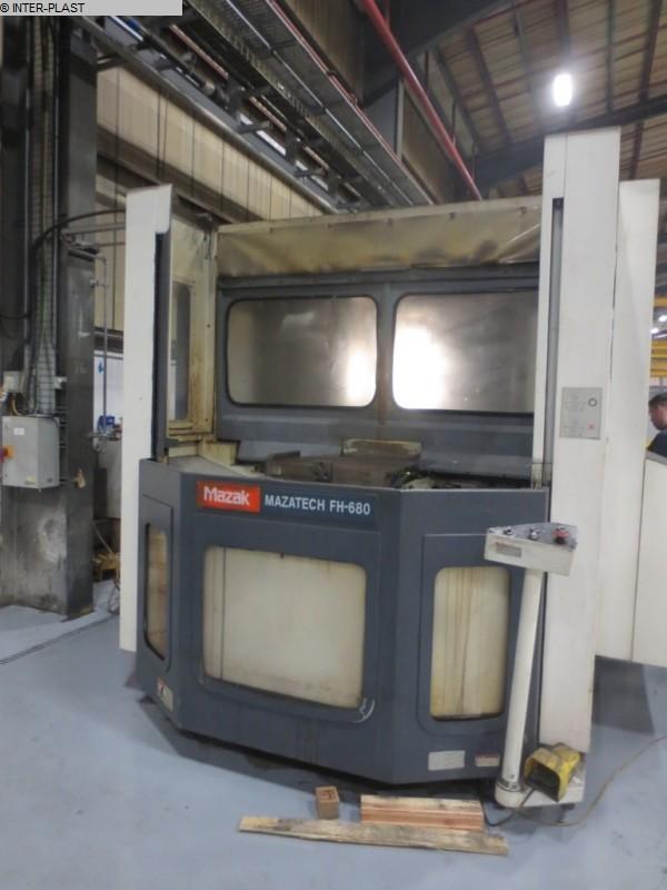 gebrauchte Fräsmaschinen Bearbeitungszentrum - Horizontal MAZAK  FH 680 X