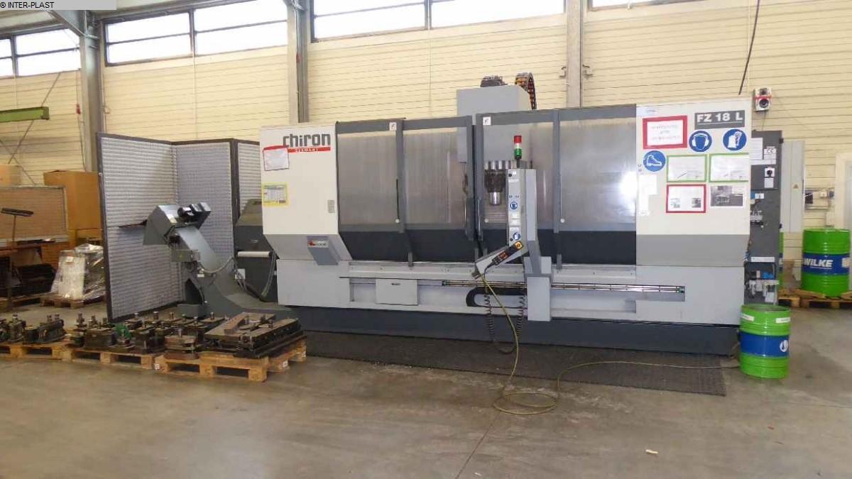 gebrauchte Fräsmaschinen Bearbeitungszentrum - Vertikal CHIRON FZ 18L