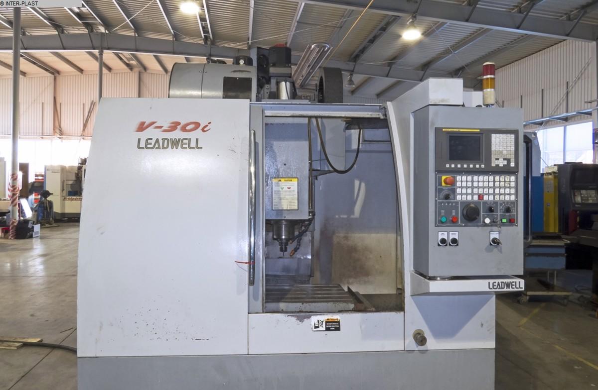 gebrauchte Fräsmaschinen Bearbeitungszentrum - Vertikal LEADWELL V30i