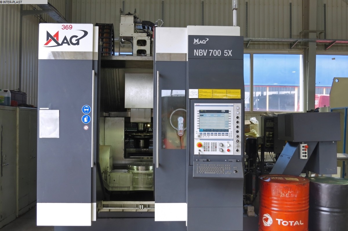 gebrauchte Fräsmaschinen Bearbeitungszentrum - Vertikal MAG NBV 700 5X