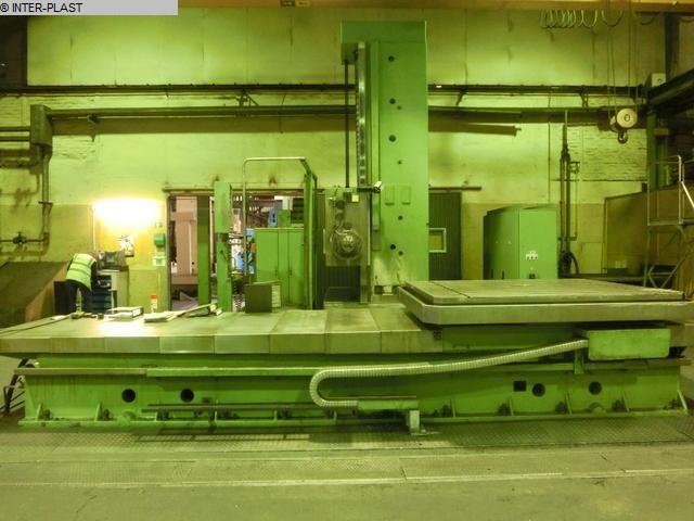Rabljeni glodalice za bušenje / Strojni centri / Strojevi za bušenje Bušački centar TOS WHN 13.8