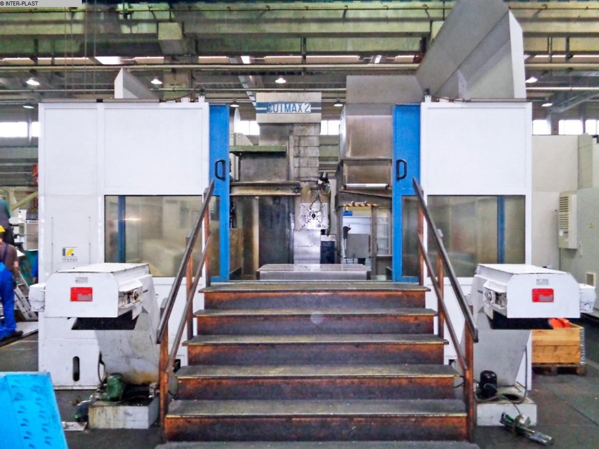 Rabljeni glodalice za bušenje / Strojni centri / Strojevi za bušenje Bušački centar WOTAN B 120 MNC