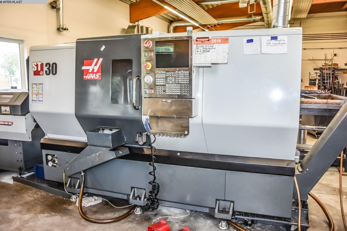 gebrauchte Drehmaschinen CNC Drehmaschine HAAS ST 30