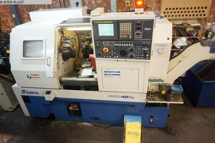 gebrauchte Drehmaschinen CNC Drehmaschine - Schrägbettmaschine MIYANO BND 42 S5