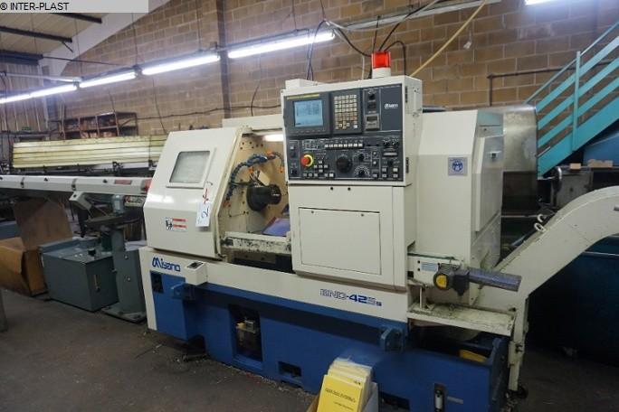 gebrauchte CNC Drehmaschine - Schrägbettmaschine MIYANO BND 42 S5
