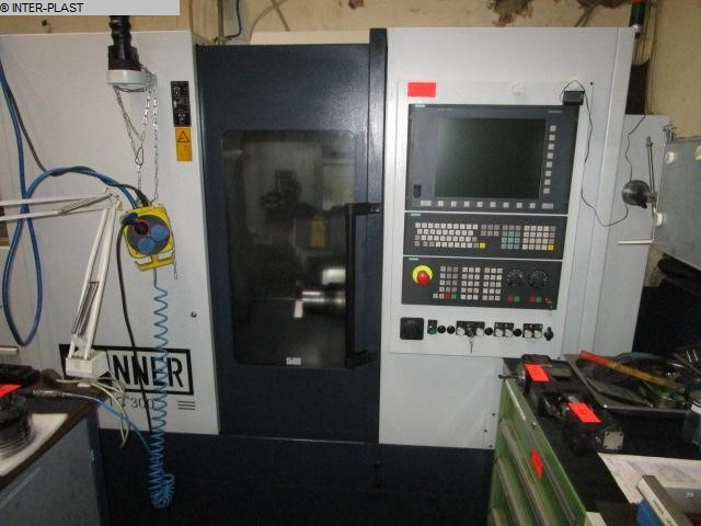 used Lathes CNC Lathe SPINNER TC300 52 SMCY