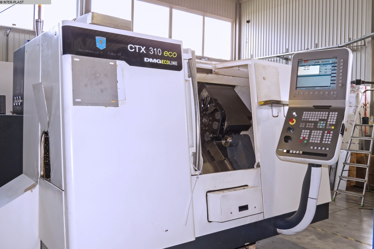 used Lathes CNC Lathe - Inclined Bed Type DMG CTX 310 ECO
