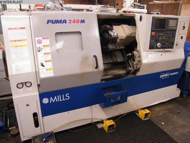 used Lathes CNC Lathe - Inclined Bed Type DOOSAN PUMA 240 MB