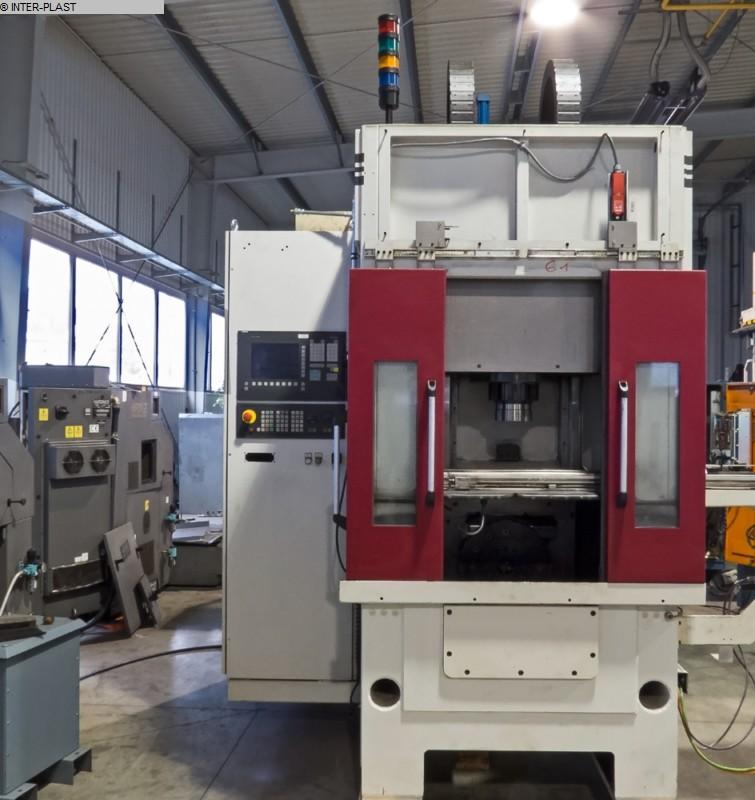 Torna Tezgahları CNC Torna Tezgahı - Eğimli Yatak Tipi RASOMA DS 200