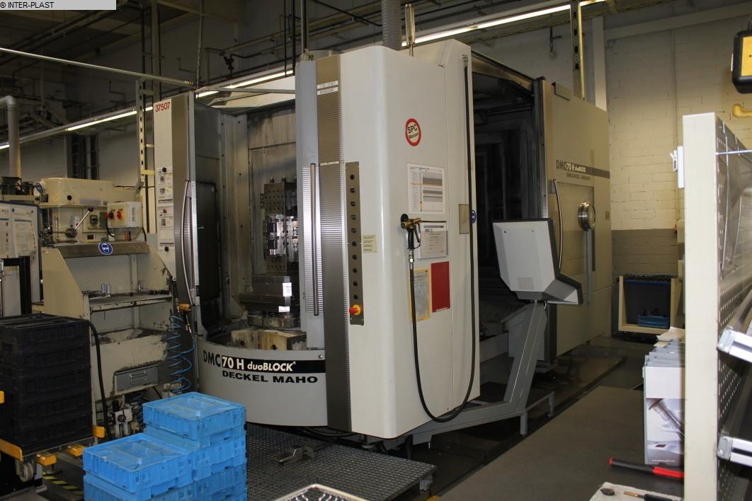 gebrauchte Fräsmaschinen Bearbeitungszentrum - Horizontal DMG DMC 70 H duoBlock