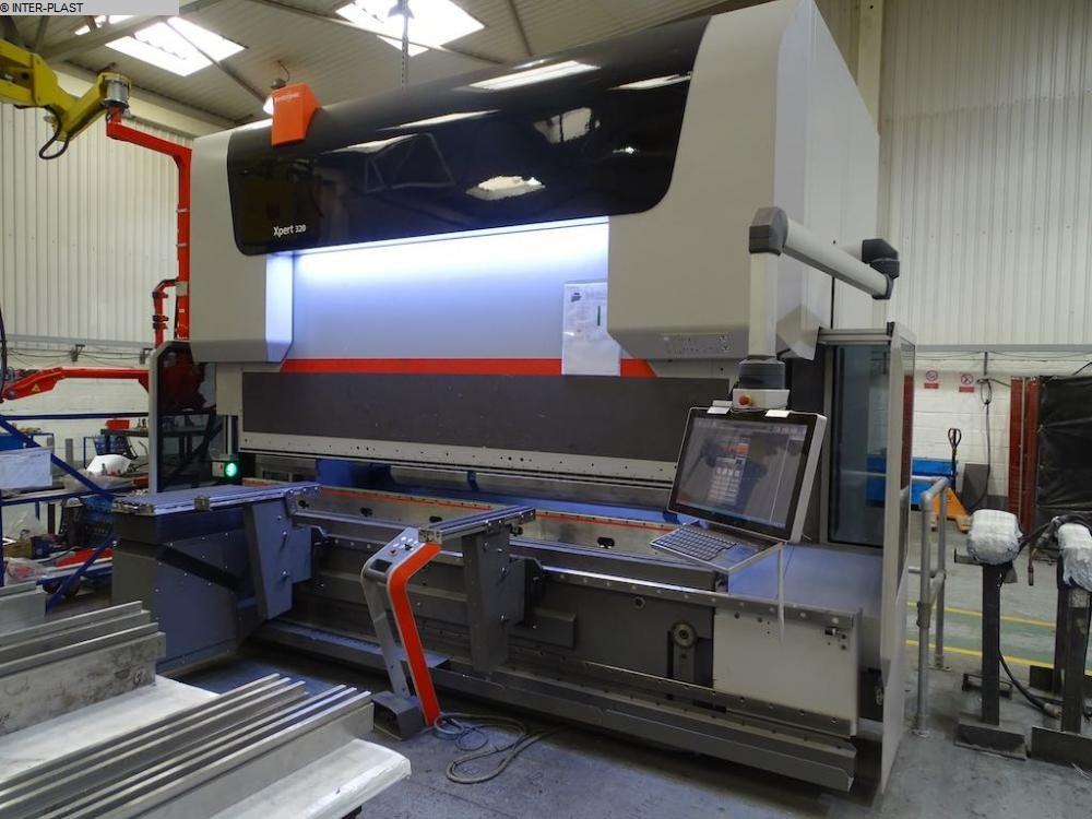 used Sheet metal working / shaeres / bending Hydr. pressbrake BYSTRONIC Xpert 320/3100