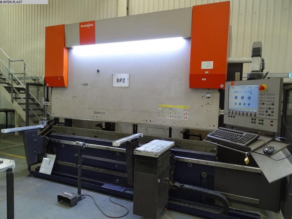 used Sheet metal working / shaeres / bending Hydr. pressbrake BYSTRONIC Xpert 150/3100