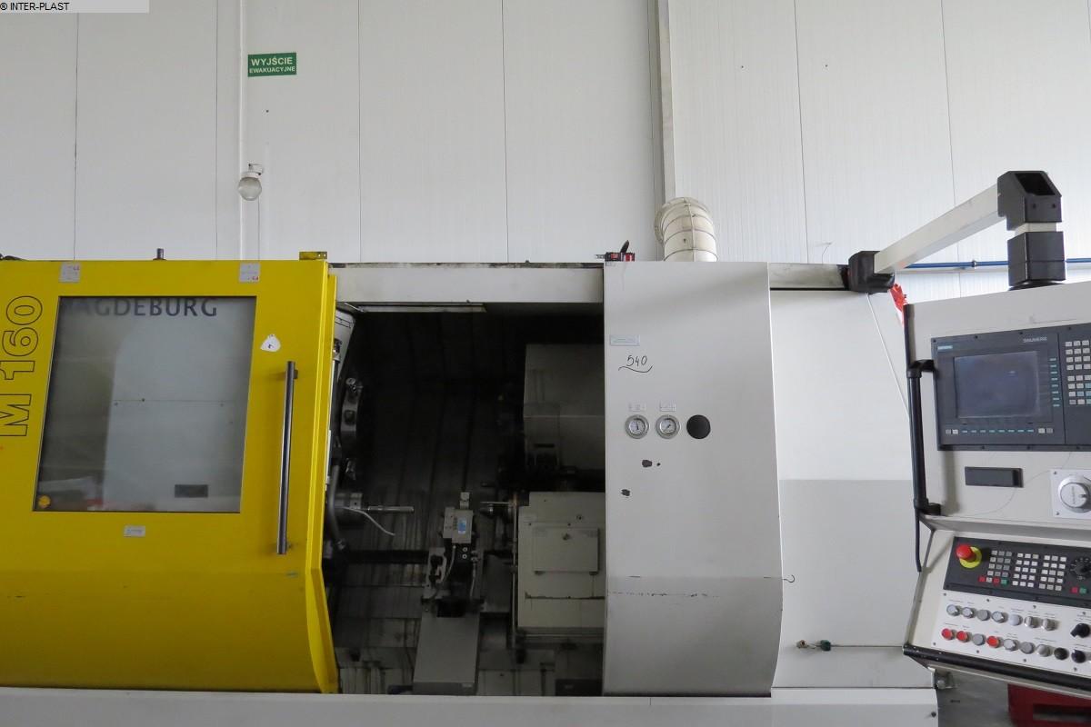 gebrauchte  CNC Drehmaschine MAGDEBURGER M160 S-4