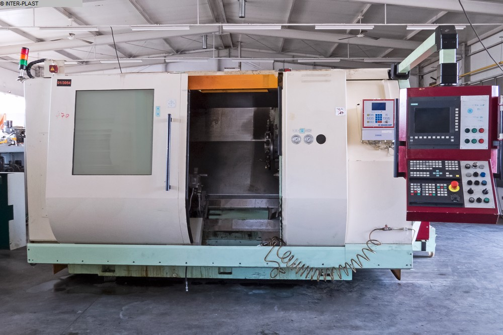 gebrauchte  CNC Drehmaschine MAGDEBURGER  M160 U-2